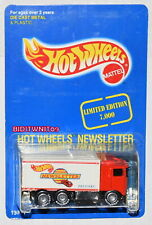 HOT WHEELS NEWSLETTER HIWAY HAULER RED W+