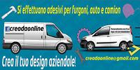 ADESIVI PER FURGONI E CAMION AZIENDALI PUBBLICITA' ITALIA PERSONALIZZATI STICKER