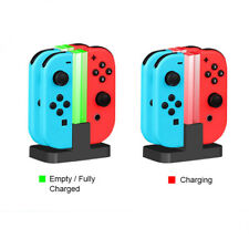 USB 4-Ports Charger Stand Charging Dock For Nintendo Switch Joy-Con
