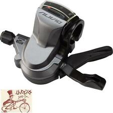 SHIMANO ALIVIO M4000 RAPID FIRE 3-SPEED GREY REAR BICYCLE LEFT SHIFTER