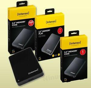 INTENSO Externe Festplatte USB 3.0 HDD 2,5 Zoll, 500 GB, 1TB, 2TB, 4TB, 5 TB