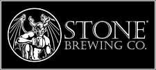 """Stone Brewing Company Beer Alcohol Bumper sticker wall decor, vinyl decal, 5""""x2"""""""