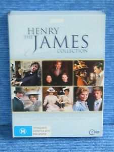 THE HENRY JAMES CLASSICS COLLECTION DVD PORTAIT LADY AMERICAN GOLDEN BOWL WINGS