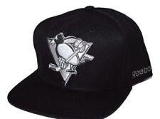 Pittsburgh Penguins Reebok NF74Z NHL Team Logo Snapback Hockey Cap Hat