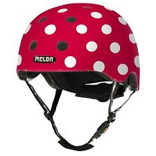 Melon Helm Dotty White Fahrradhelm Skatehelm Bmx-helm