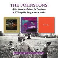 JOHNSTONS - BITTER GREEN/COLOURS OF THE DAWN/IF I ... + BONUS TRACKS 2 CD NEU