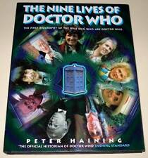 DOCTOR WHO : The NINE LIVES OF DOCTOR WHO Hardback Book 1999 VFN   Peter Haining
