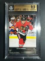 2015-16 Upper Deck Artemi Panarin Young Guns Rookie BGS 9.5