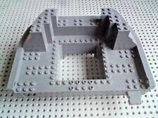 Lego Boat Hull Deck 15x22 Giant Stern/Bow [47981] - Dark Grey x1