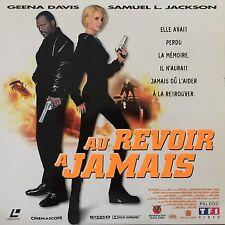 LASERDISC - AU REVOIR A JAMAIS WS VF PAL-Geena Davis, Samuel L. Jackson