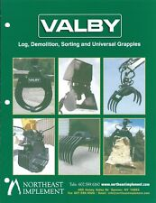 Equipment Brochure - Valby - Log Demolition Tractor et al Grapple 3 item (E4853)