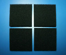 4 x Juwel Carbon Foam Filter Pads Compatible Compact / BioFlow 3.0 Fish Tanks