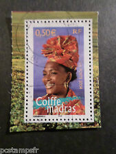 FRANCE 2004, timbre 3650, REGIONS, COIFFE MADRAS, oblitéré, VF STAMP
