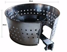 Wind Shield for Large Ring Burners to protect against wind when cooking outdoors