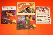 LIONEL Toy Train 1966-67 1968 1969 1970 CATALOGS NEW  UNUSED Postwar O 027 Gauge