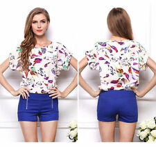 Chiffon Animal Print Unbranded Machine Washable Tops & Blouses for Women
