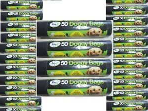1200 XXL Super Strong Double Thick Doggy Poo Bags (24 x 50 Rolls) 36 X 30cm