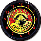 Erlanger Brewing Co Philadelphia PA Beer Tray Pony Deluxe Wall Clock Ale Lager