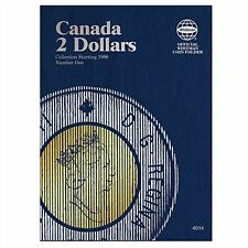 Whitman Coin Folder 4014 CANADA 2 Dollars 1996-2013 Volume 1