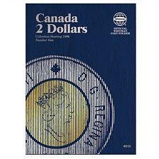 Whitman Coin Folder 4014 CANADA 2 Dollars 1996-2013 Volume 1