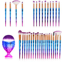20PCS Unicorn Makeup Brushes Set Foundation Powder Eyeshadow Contour Lip Brush