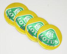 4Pcs 56.5mm Car Logo Wheel Center Caps Covers Emblems Stickers For Lotus