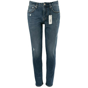 SUPERDRY Herren Slim-Fit Jeans M7010001A 03 Tyler Mid Blue / W31 (30) L32 / Hose