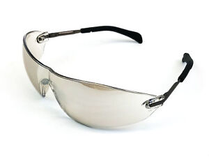 Frameless Safety Glasses MCR Safety S22 Series Clear Mirror Lens ( 2-Pairs)