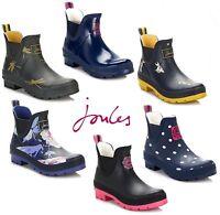 Joules Womens Ankle Wellington Boots, Wellibob Shoes - Various Colours & Sizes