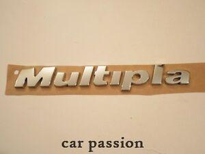 SCRITTA STEMMA FIAT MULTIPLA ORIGINALE BAULE POSTERIORE logo emblem sign