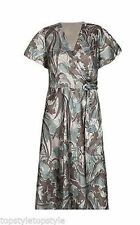 Marks and Spencer Short Sleeve Wrap Dresses