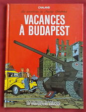 FREDDY LOMBARD VACANCES A BUDAPEST EO CHALAND  HUMANOIDES
