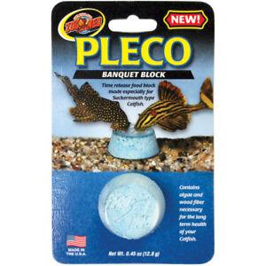 Zoo Med Pleco Banquet Food Block Free Shipping