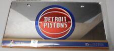 Detroit Pistons Sharp looking Laser Tag License Plate.     K9-3/494