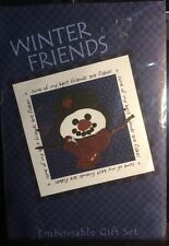 * NEW * Lasting Impressions Winter Friends Snowman Gift Set Kit