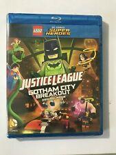 LEGO DC Comics Super Heroes: Justice League - Gotham City Breakout BLUE RAY DVD