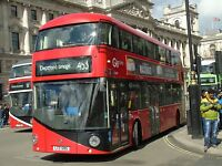 New bus for London - Borismaster LTZ1285 Go Ahead London 6x4 Quality Bus Photo