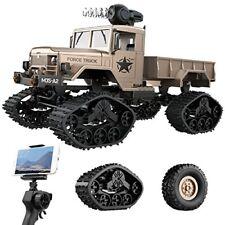 Camion Troca Carro Militar Con Camara Hd Inalambrica Y Luces A Control Remoto