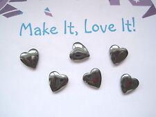 Jewellery Making Heart Hematite Craft Beads