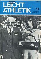 Leichtathletik Nr. 42/1972