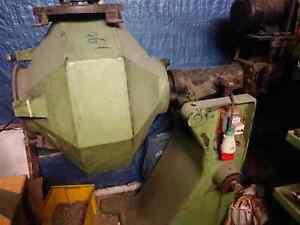 Poliertrommel, Schuettelfass, Polierglocke Walther Trowal, Gleitschleifen