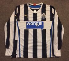Newcastle United 2013/14 Long Sleeve Home Shirt, XL, Excellent Condition