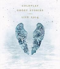 COLDPLAY Ghost Stories Live 2014 BLU-RAY/CD BRAND NEW All Region