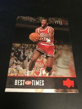 1998 MJX TIMEPIECES BEST OF TIMES MICHAEL JORDAN #23 CHICAGO BULLS 131 B1 INSERT