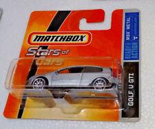 Voiture Matchbox MBX metal neuve 2008 Stars of Cars Volkswagen Golf V GTi 5 gris
