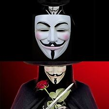 Floureon V For Vendetta Mask Anonymous Guy Fawkes V Fancy Resin Costume Cosplay