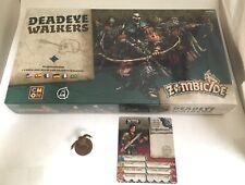 Zombicide Black Plague Deadeye Walkers plus Bruce Mini & Card NEW Sealed Rare