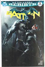 BATMAN #1 REBIRTH GABRIELE DELL'OTTO COLOR LTD 3000 BULLETPROOF VARIANT VF