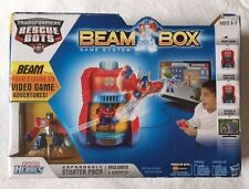 Transformers Rescue Bots Beam Box Game System Video Game Adventures! New!