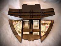 STAR WARS 1982 - Rebel Transport Ship Part - COCKPIT SEAT - Vintage Kenner